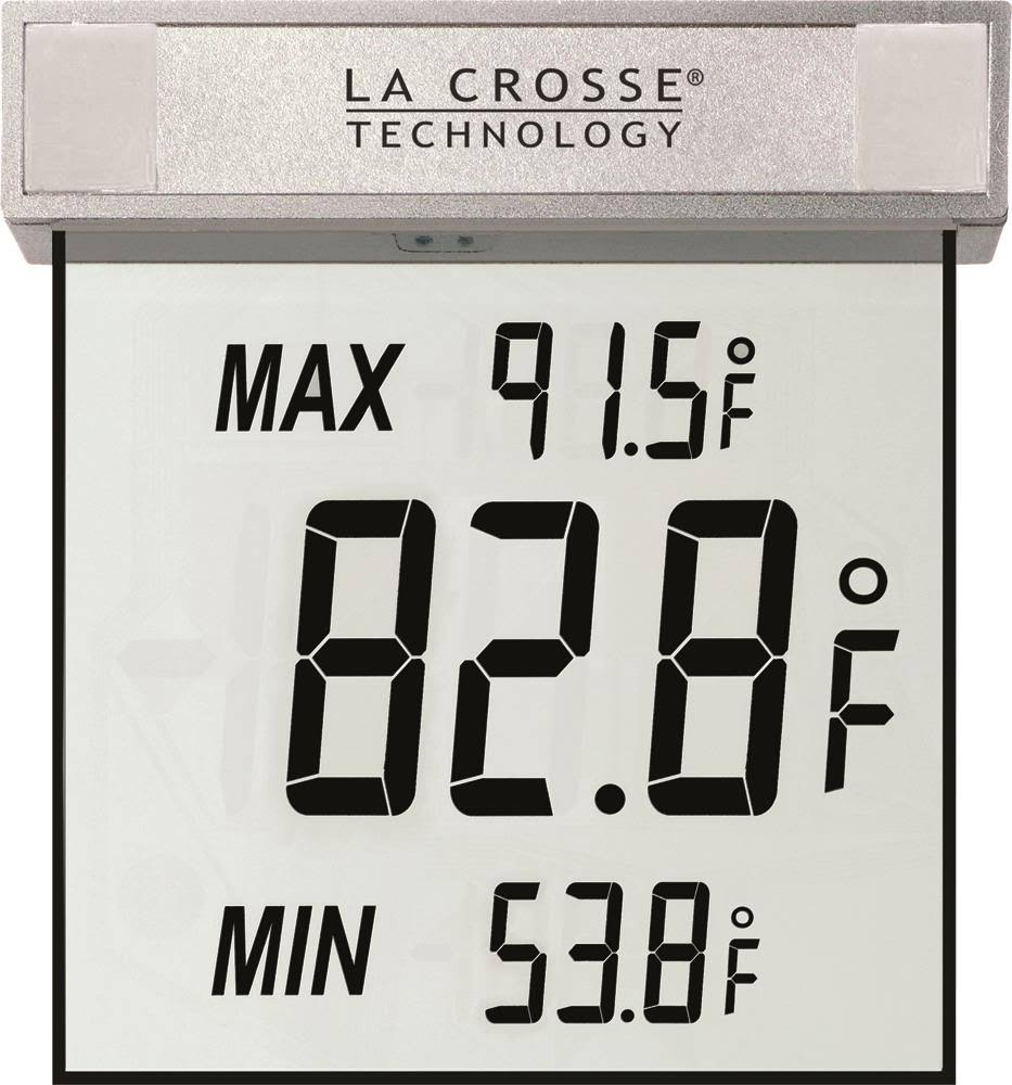 La Crosse Technology Window Outdoor Thermometer