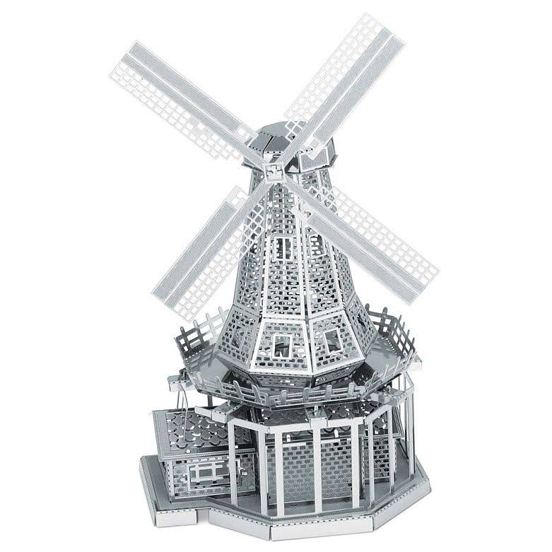 Fascinations 010381 Metal Earth Windmill 3D Metal Model Kit
