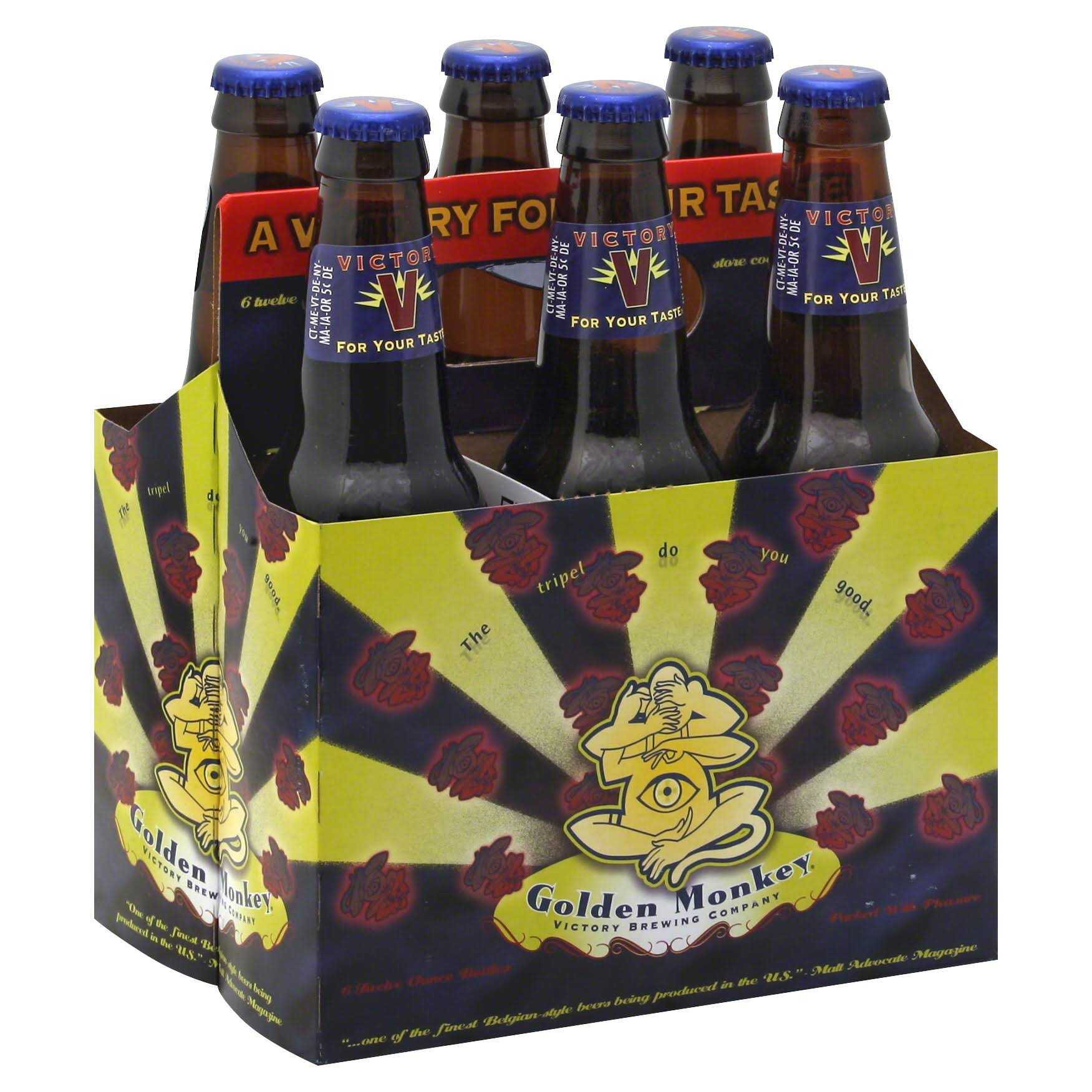 Victory Beer - 6 pack, 12 fl oz bottles