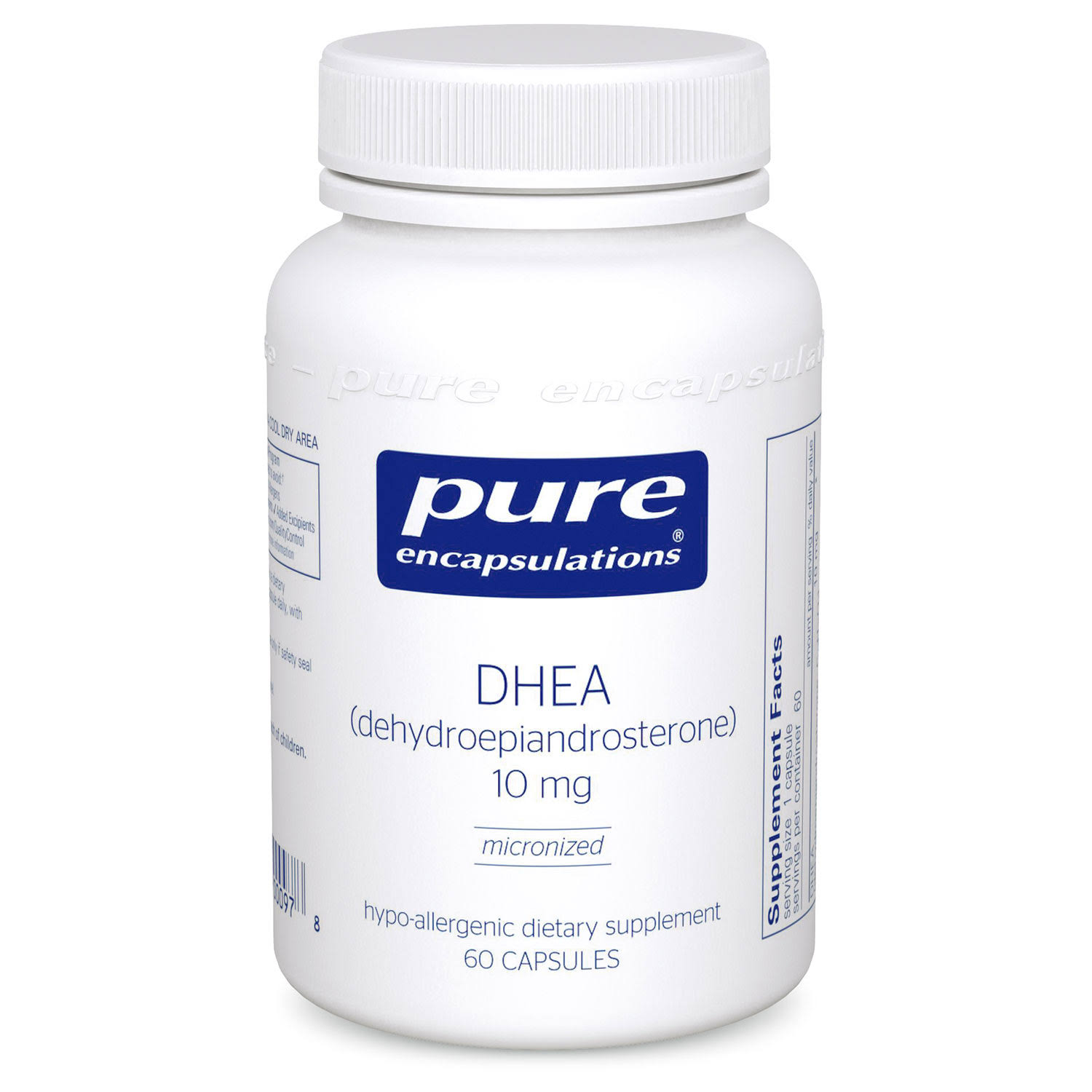 Pure Encapsulations Dhea Supplement - 10mg, 60ct