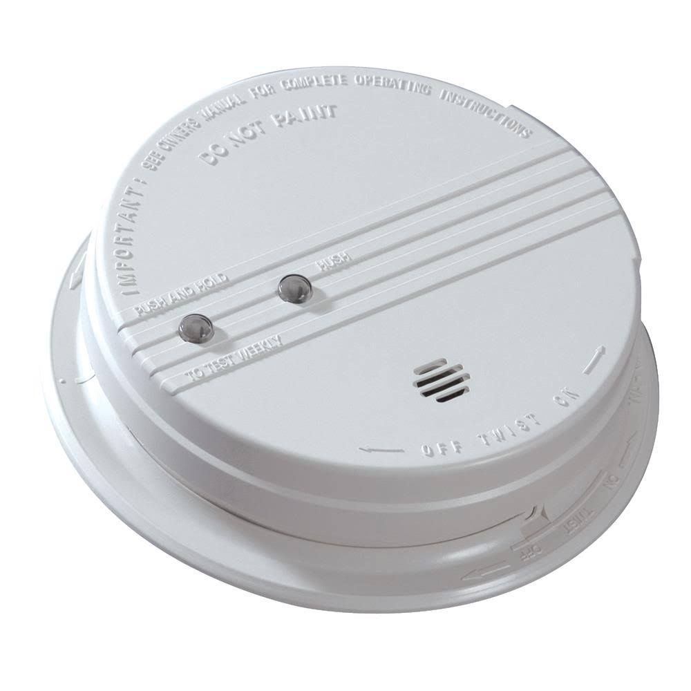 Kidde p12040 Battery Backup Photoelectric Smoke Alarm - White