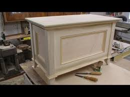 Build Wooden Toy Chest by Make A Blanket Chest Toy Chest Part 2 Making The Top By Jon