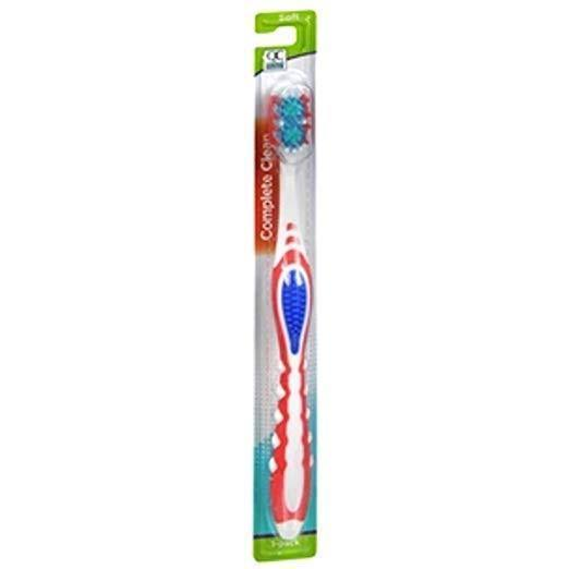 Quality Choice Complete Clean Soft Toothbrush 1 Count Each