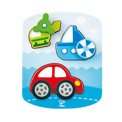 Hape : Dynamic Vehicle Puzzle