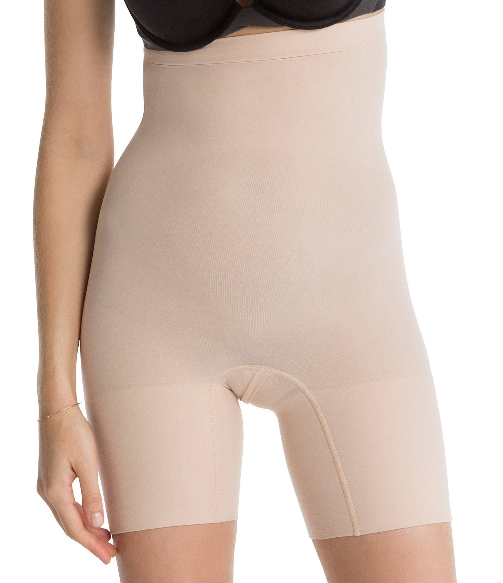 SPANX Power Series Higher Power Short - Soft Nude, 2X Plus