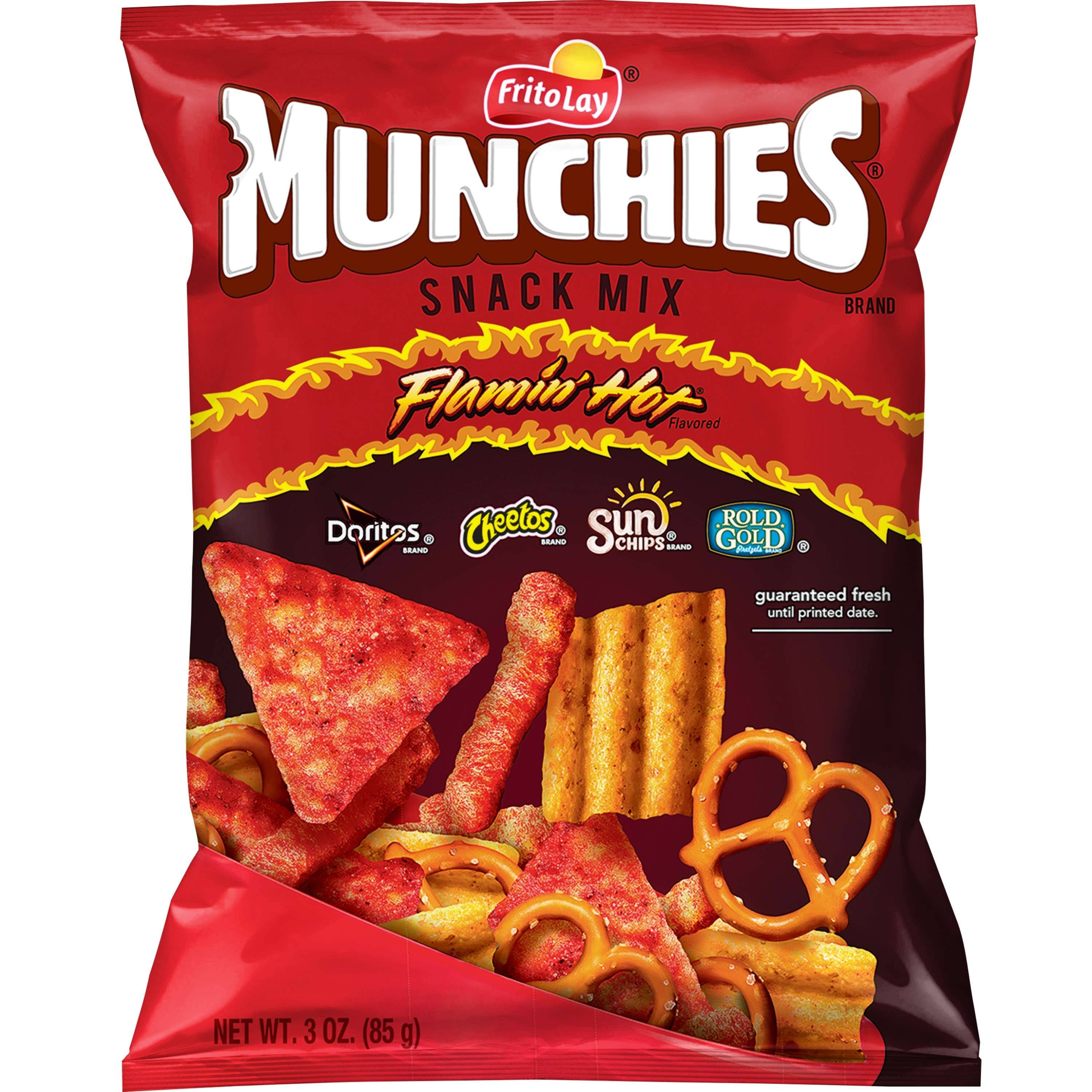 Munchies Flamin' Hot Snack Mix - 3oz
