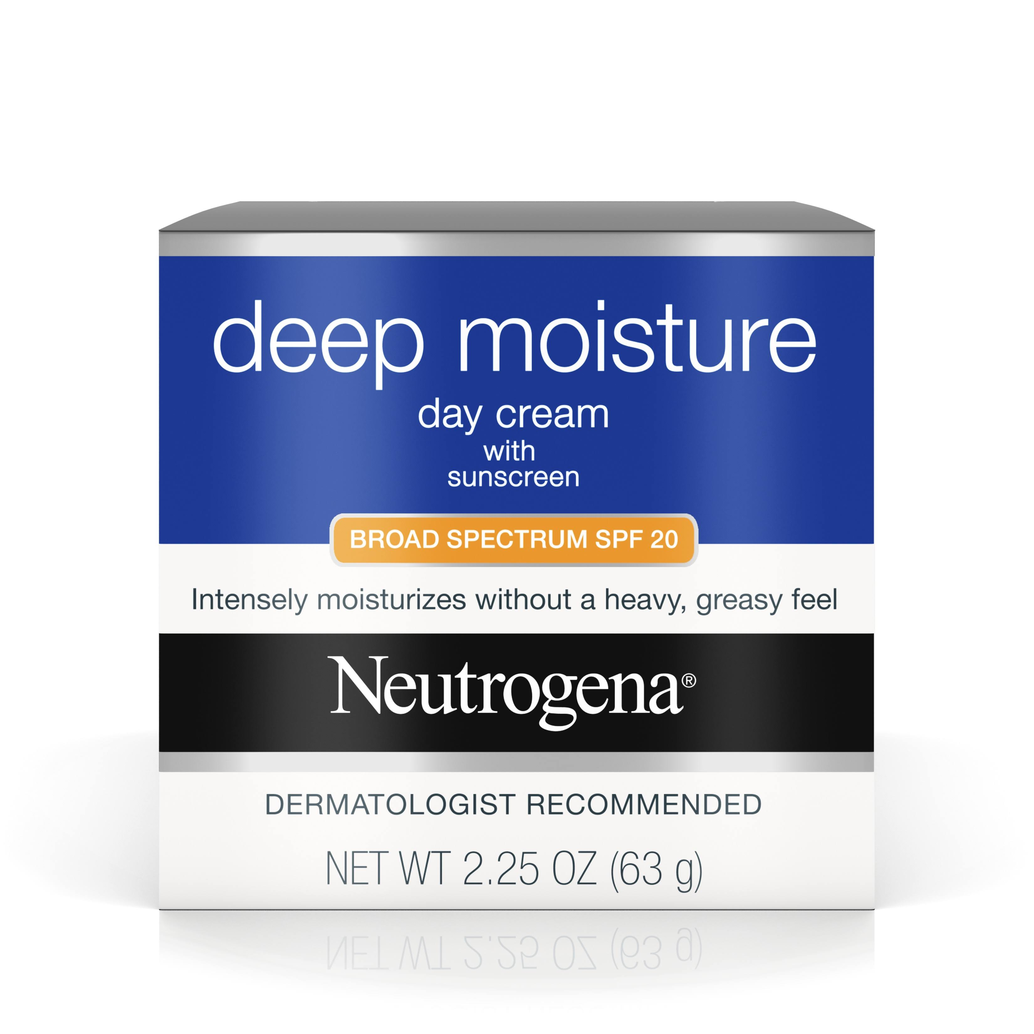 Neutrogena Deep Moisture Day Cream - SPF20, 2.25oz
