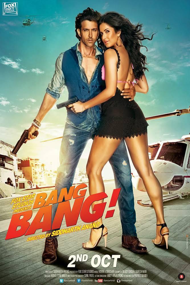 Bang Bang 2014 Hindi Movie Free Download 720p BluRay