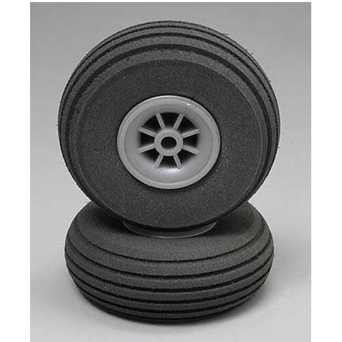 "Dubro 2-1/4"" Super Lite Wheels (2)"