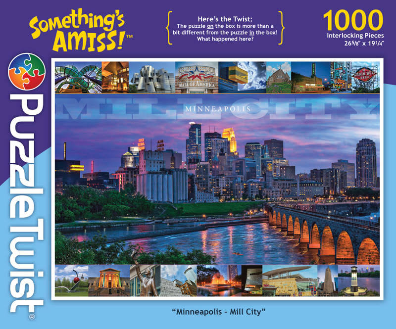 Puzzletwist Something's Amiss Jigsaw Puzzle - 1000 Pieces