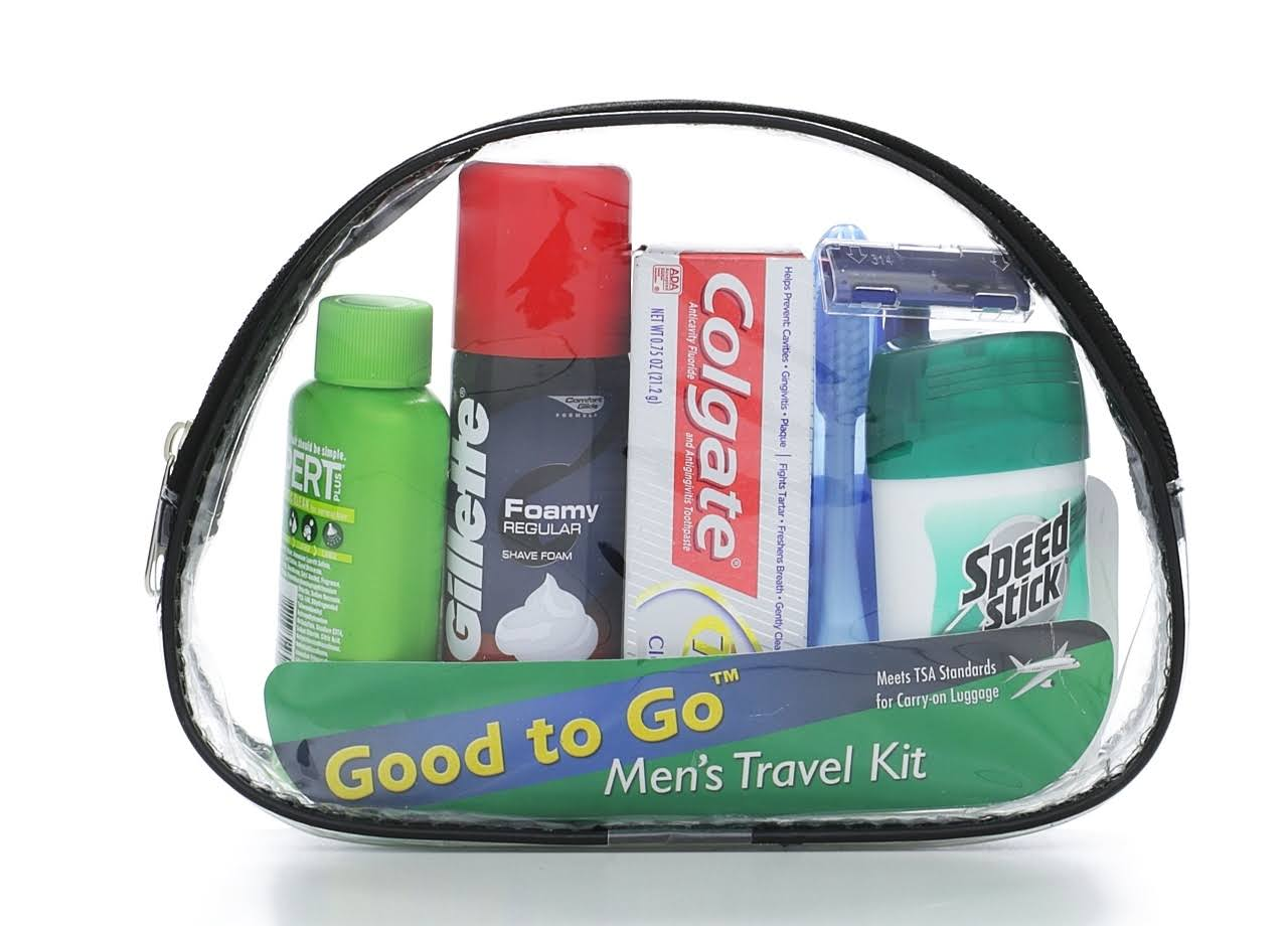 Good To Go Mens Travel Kit