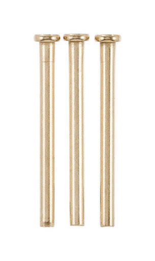"Ace Brass Hinge Pin - Satin Brass, 3-1/2"", 3pk"