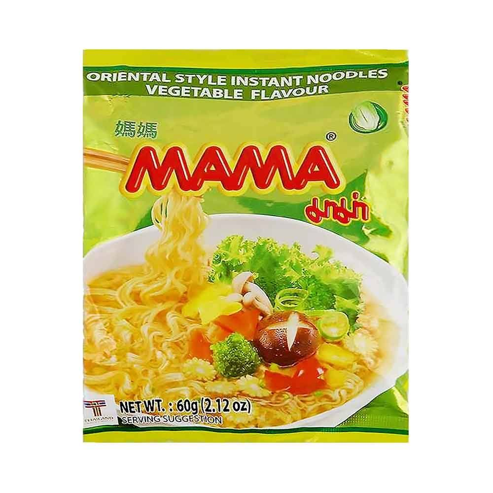 Mama Noodle, Vegetable, 2.1 oz 30ct (Pack of 30)