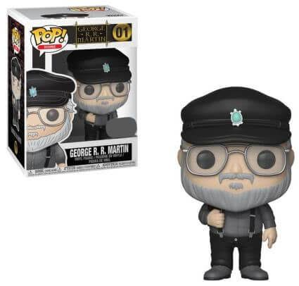 Funko Pop Game of Thrones George RR Martin Vinyl Figure