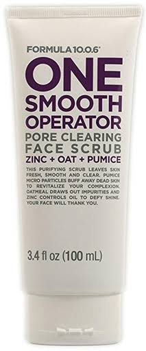 Formula 10.0.6 One Smooth Operator Pore Clearing Face Scrub - 3.4oz