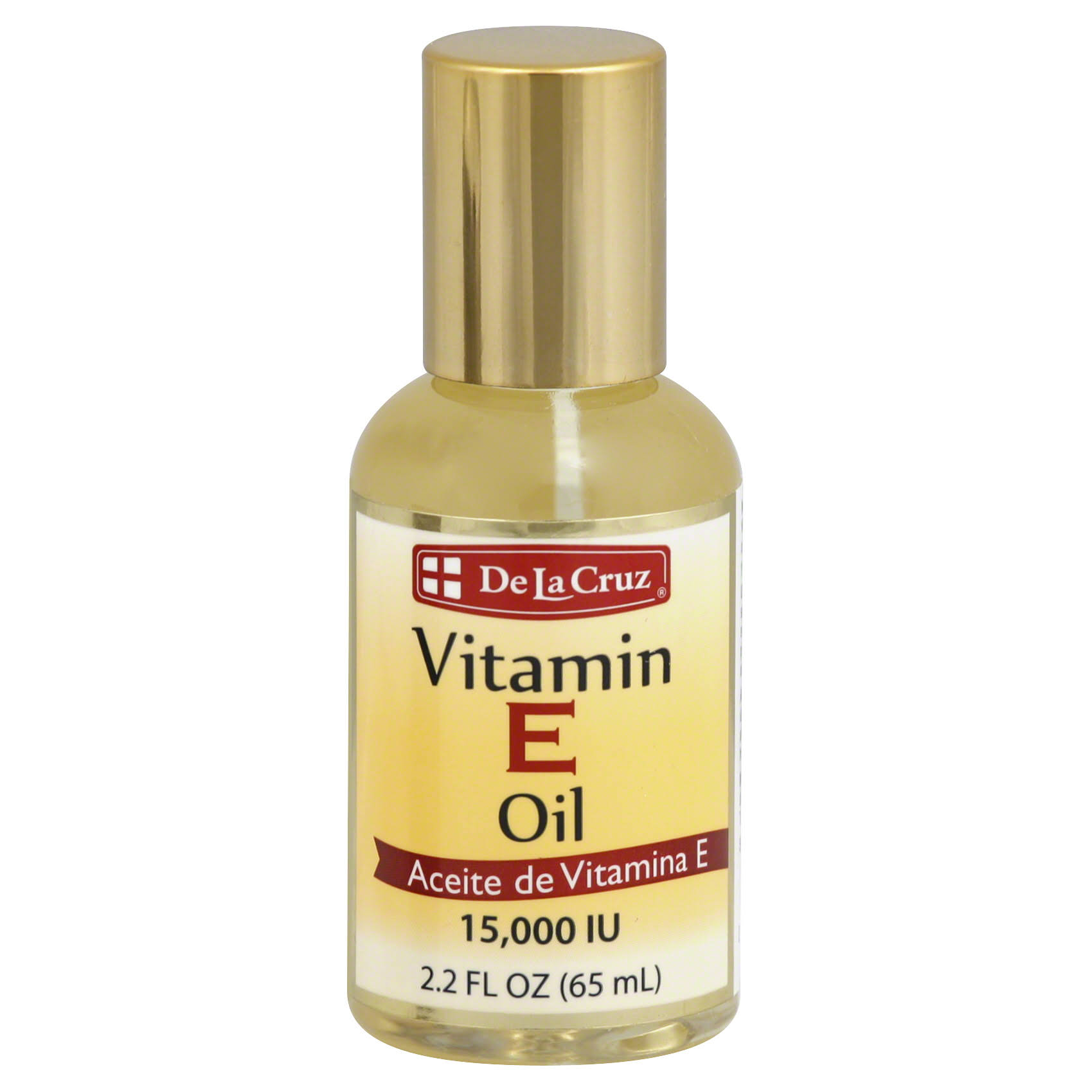 De La Cruz Vitamin E Oil - 2.2oz