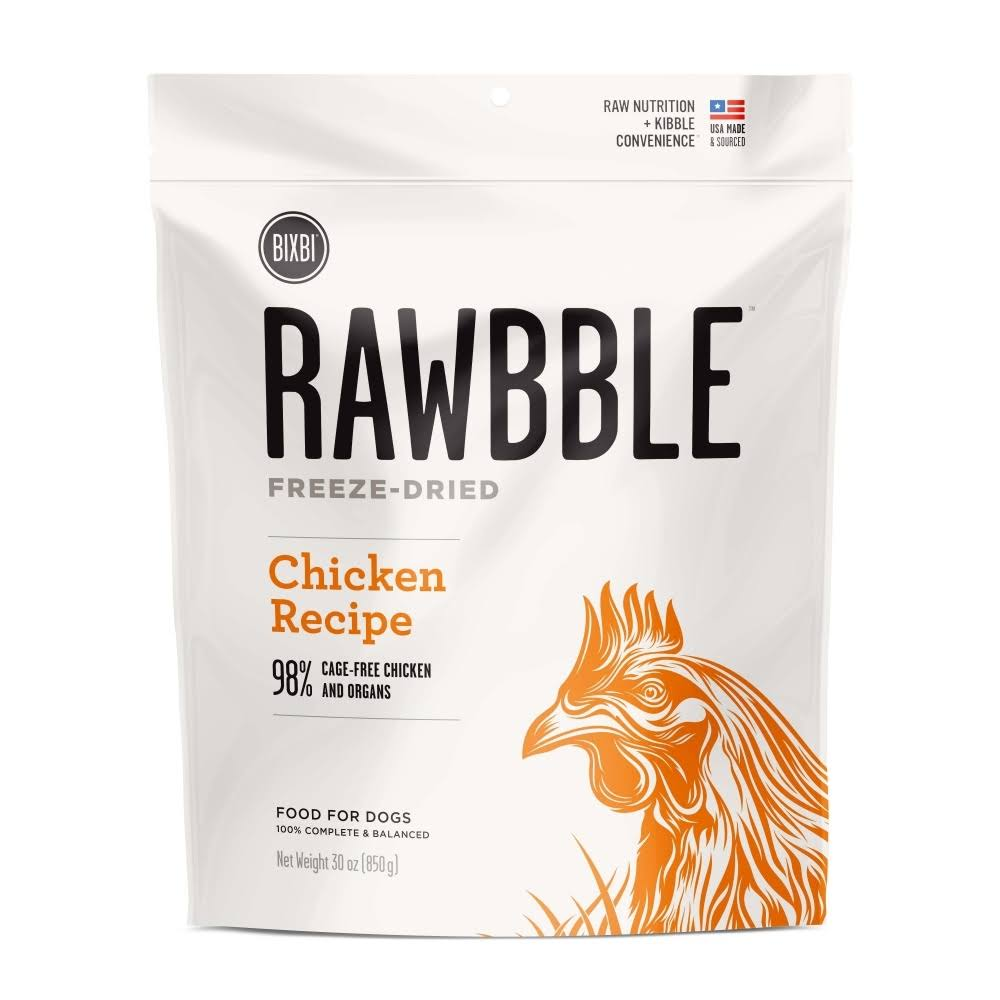 Rawbble Chicken Recipe Freeze Dried Dog Food