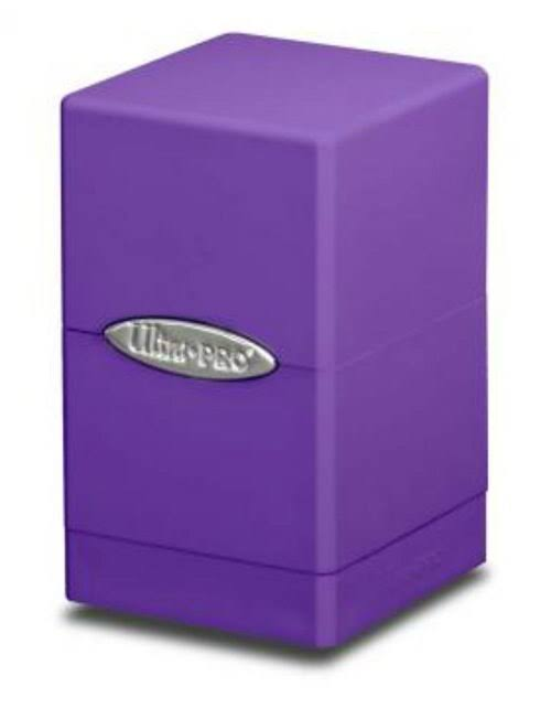 Ultra Pro Purple Satin Tower Deck Box