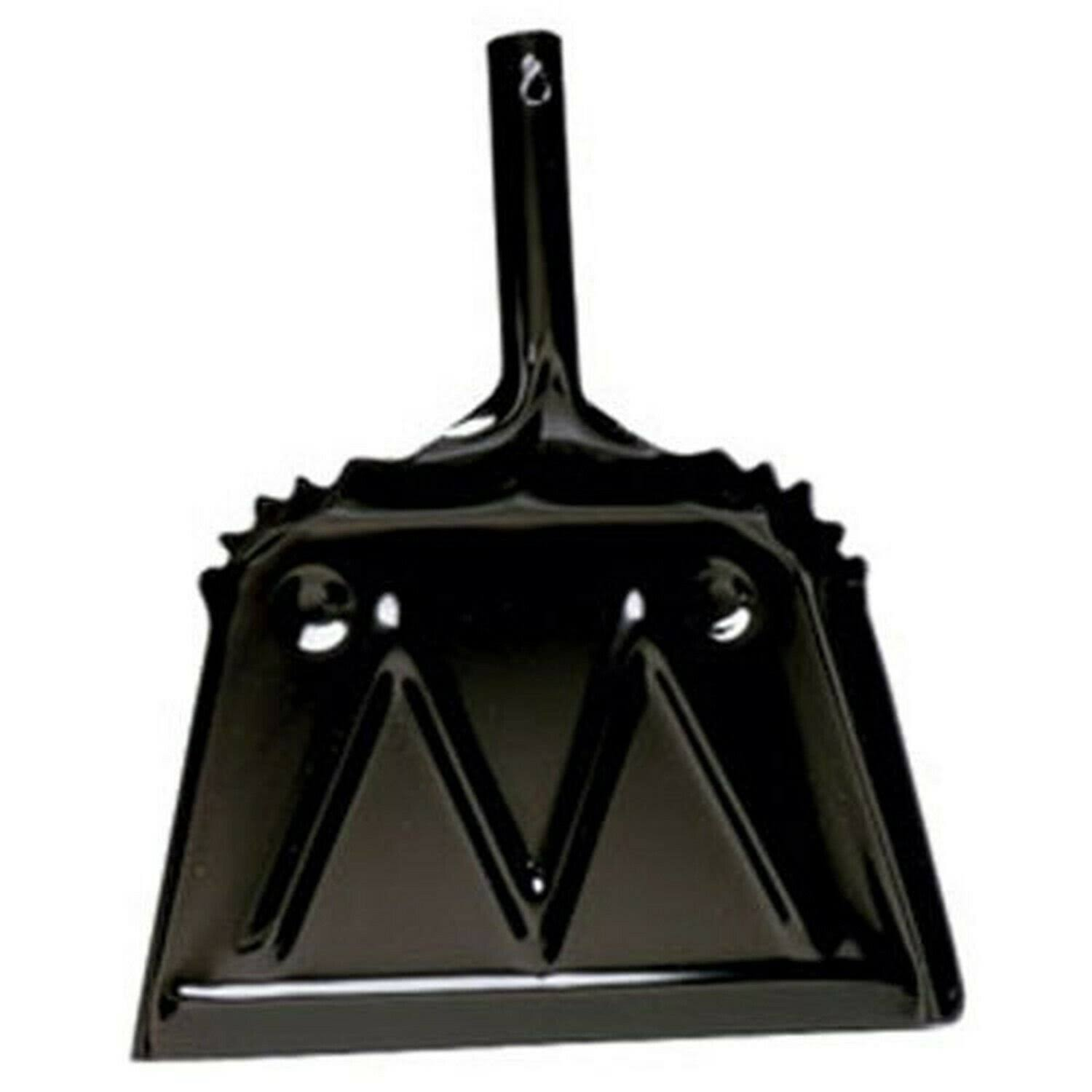 Impact Products Dust Pan - Metal, Black