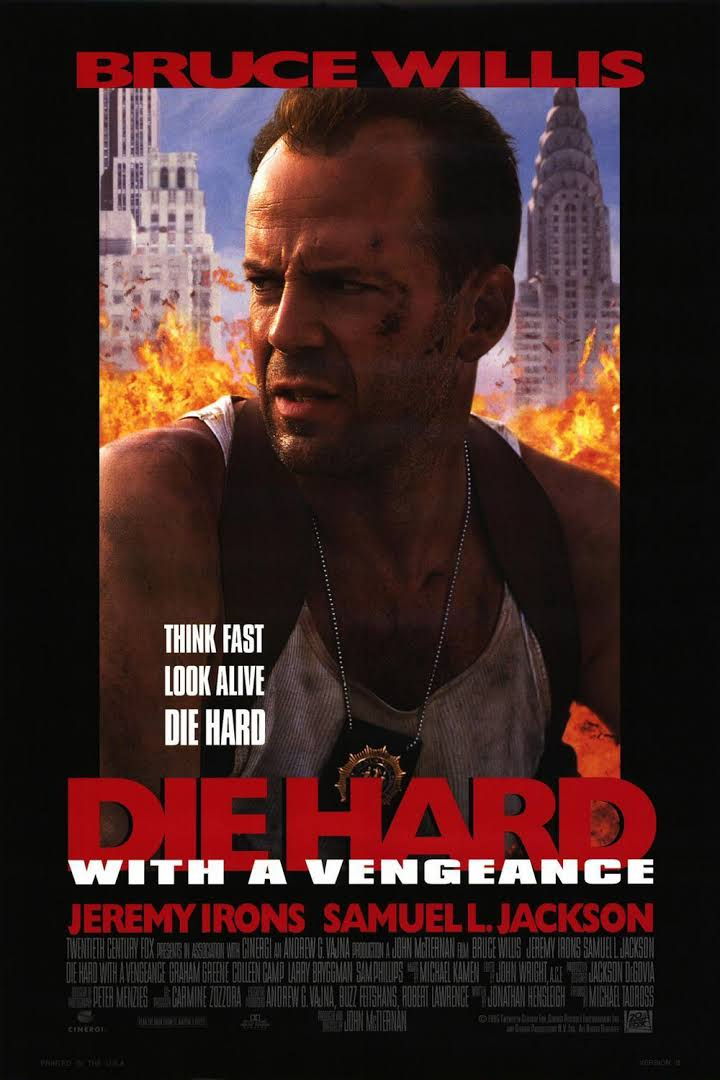 Die Hard with a Vengeance 1995 Full Movie Download BluRay 480p 450MB And 720p 950MB High Speed Google Drive Link