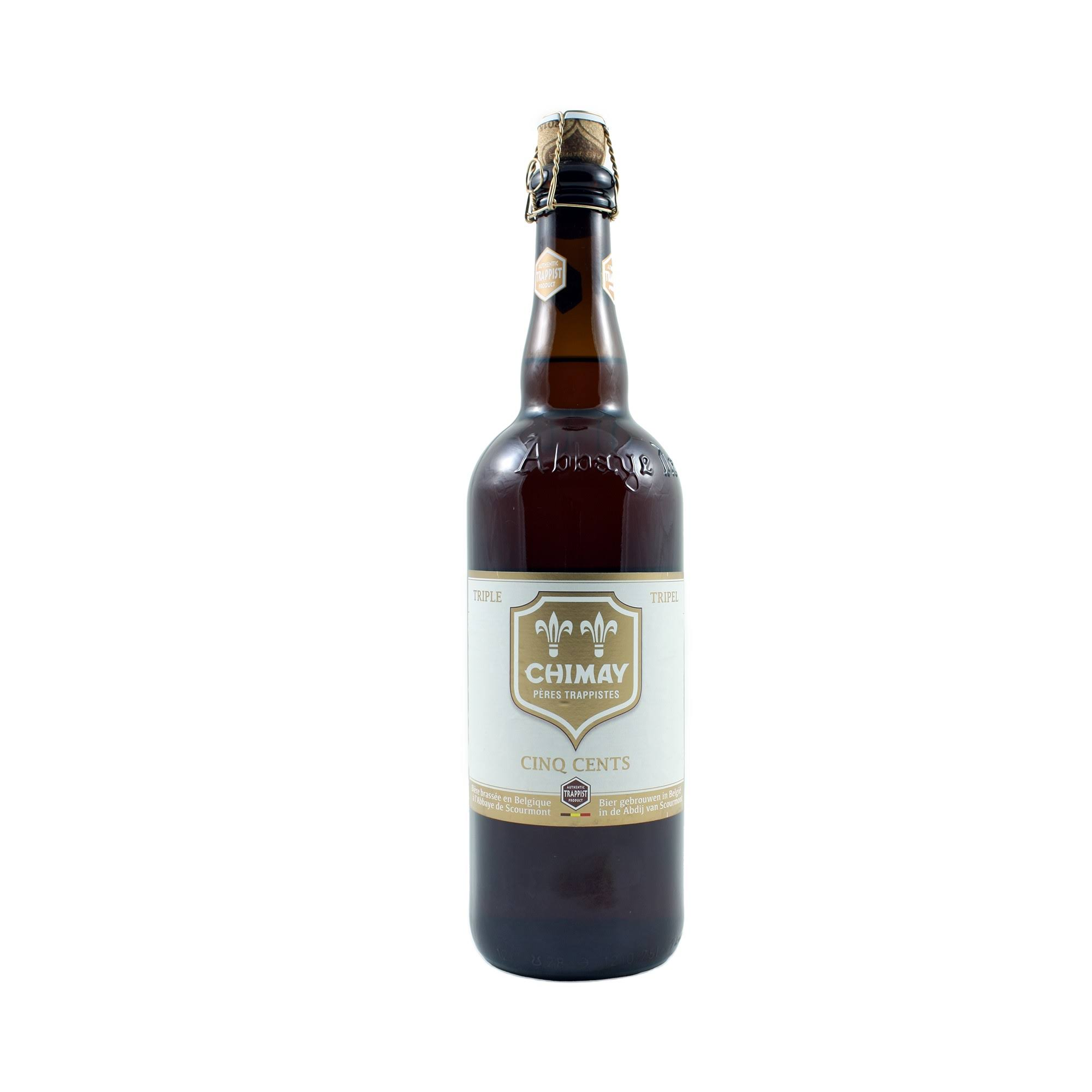 Chimay Cinq Cents Beer - 750ml