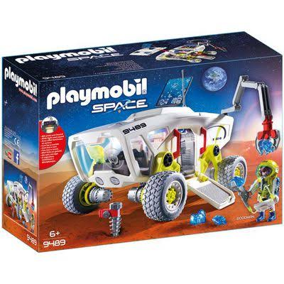 Playmobil Mars Research Vehicle Playkit - 26cm x 17cm x 18cm