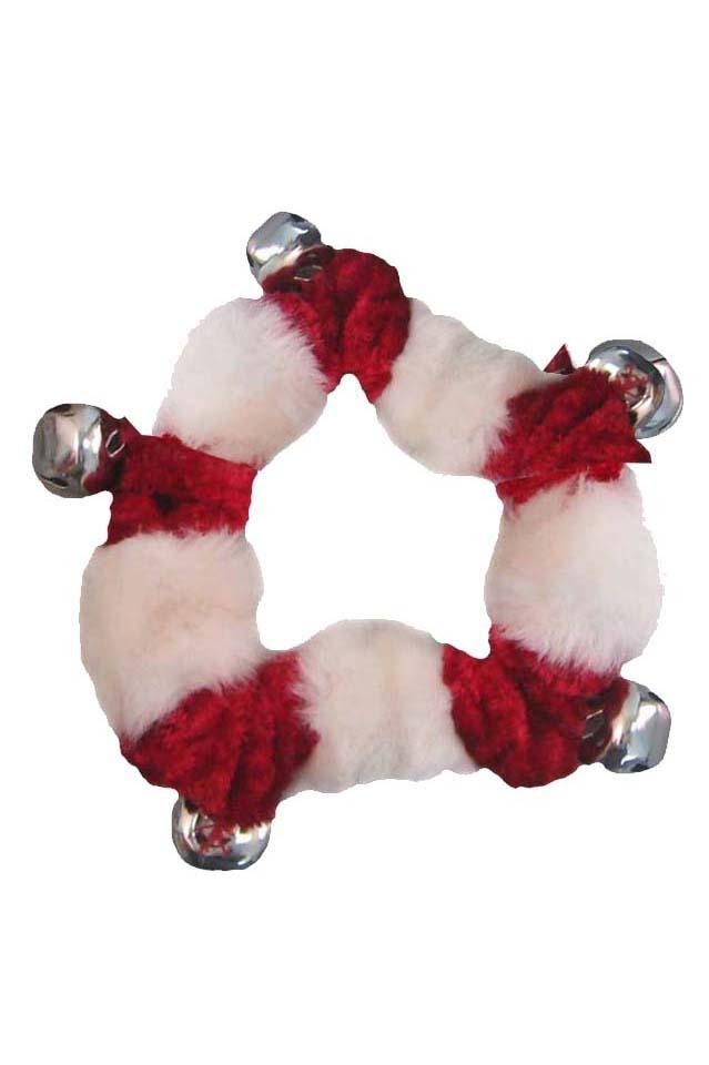 Outward Hound Large Holiday Bell Collar