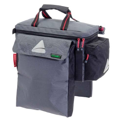 Axiom Seymour Oceanweave Exp15 Trunk Bag - Gray/Black