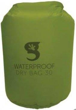 Gecko Waterproof Lightweight Compression Dry Bag - Green, 30L