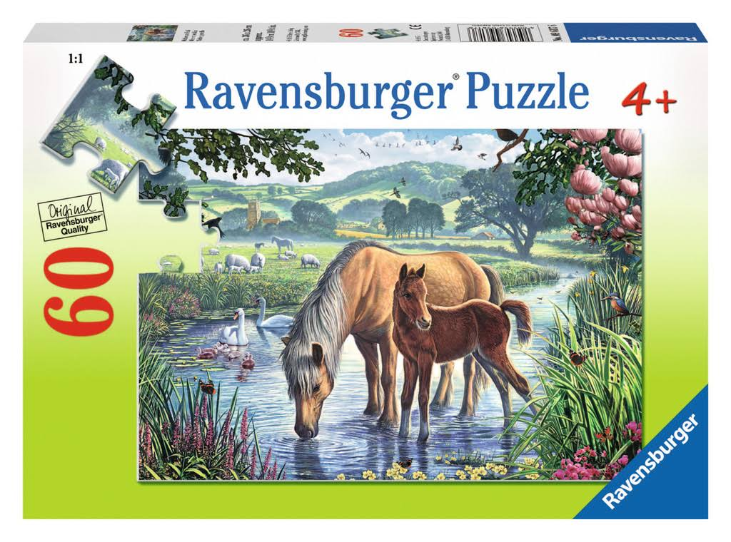 Ravensburger Jigsaw Puzzle - Mother 7 Foal, 60 Pieces