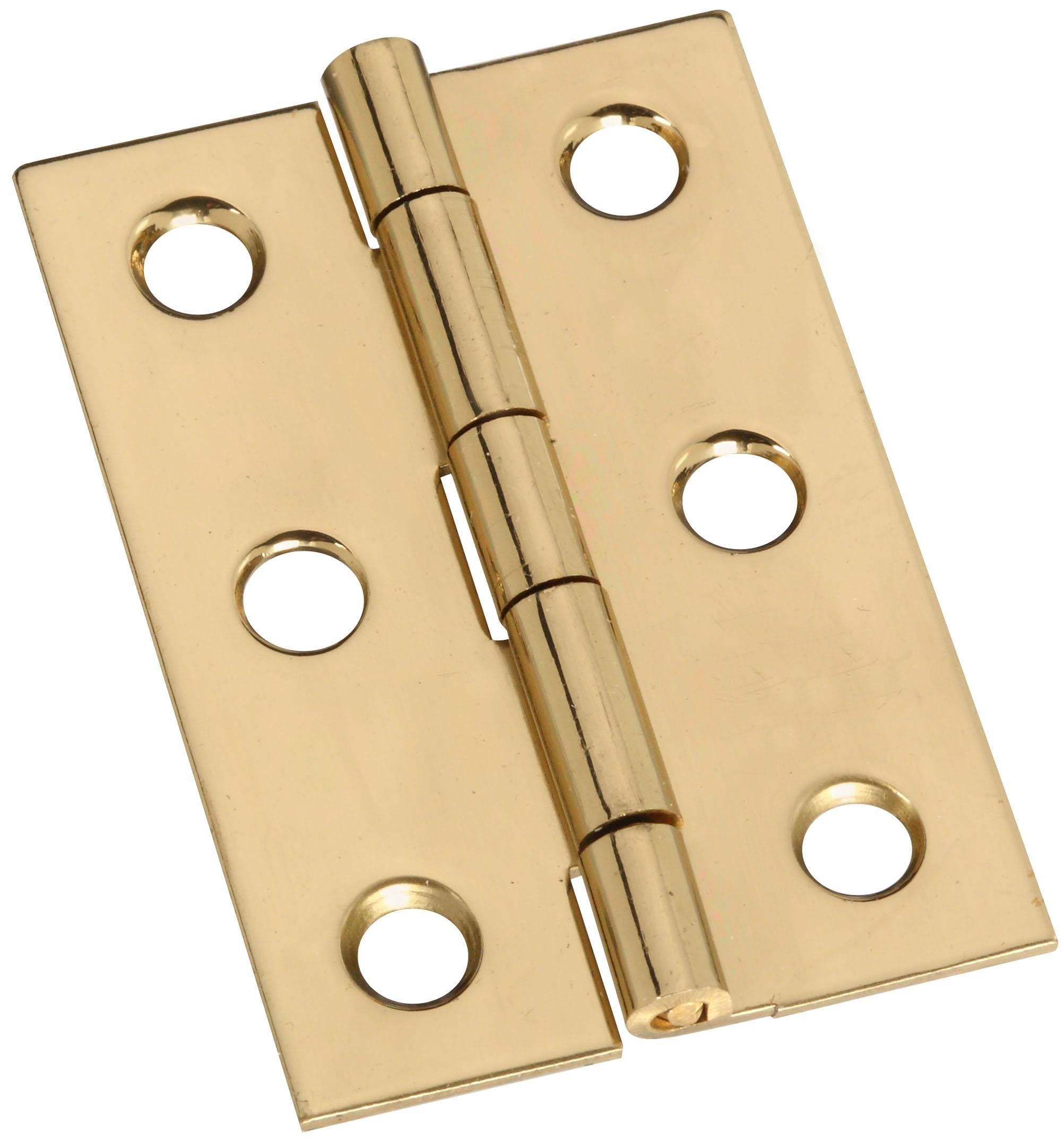 National Manufacturing Hinge - Brass