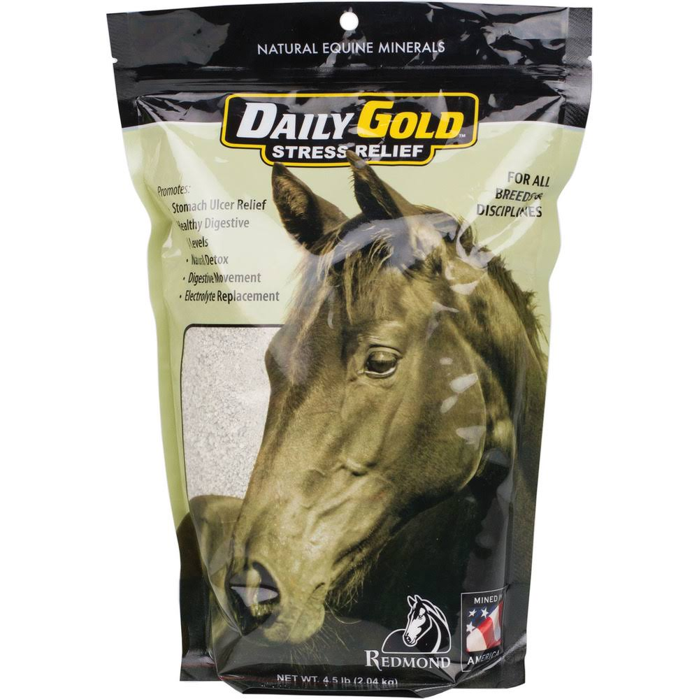 Daily Gold Stress Relief Supplement for Horses