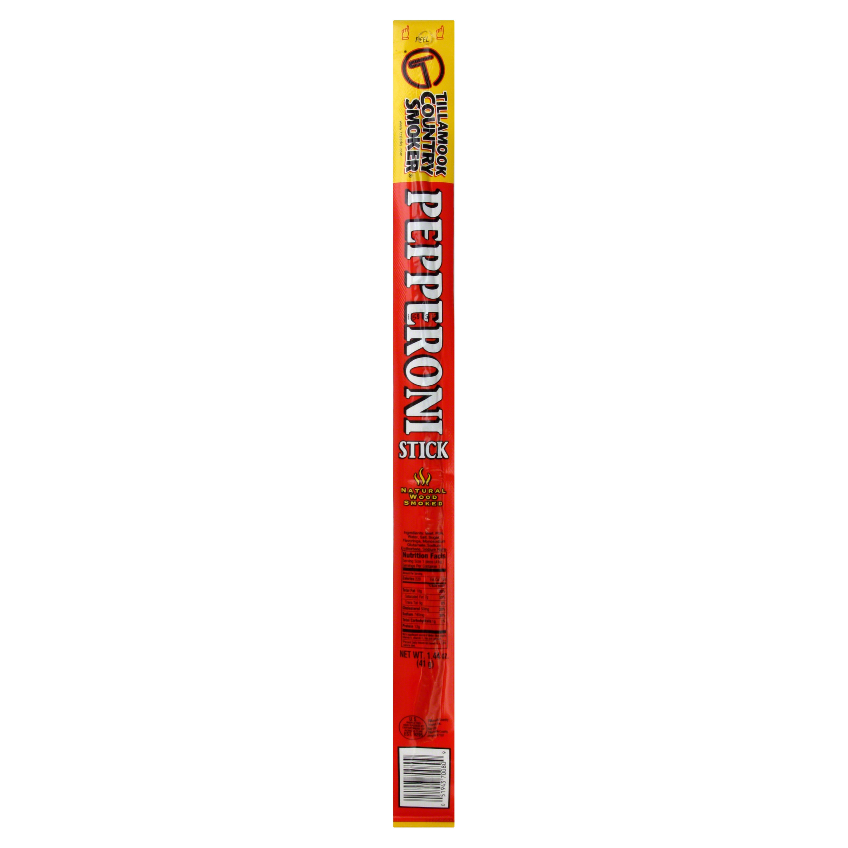 Tillamook Country Smoker Pepperoni Stick