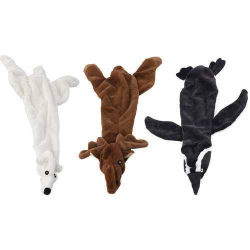 Ethical Mini Skinneeez Arctic Assorted Animals Stuffingless Dog Toy - 15""