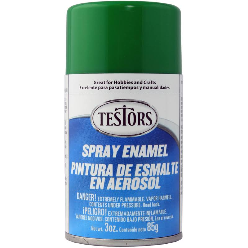 Testors Spray Enamel 3oz-Green