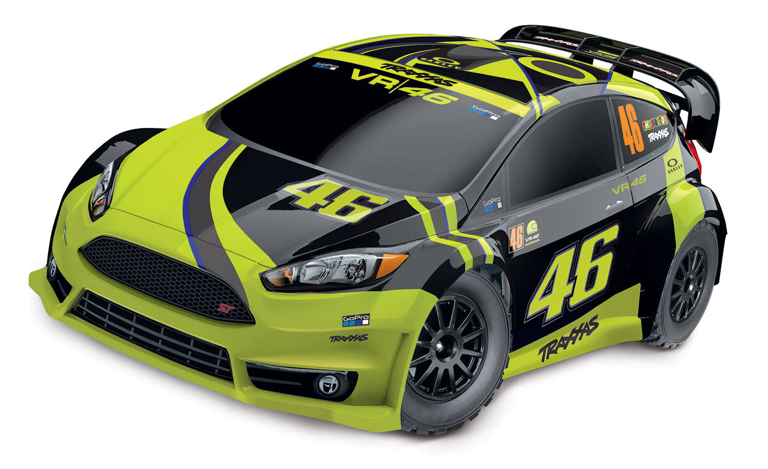 Traxxas 1/10 VR46 Ford Fiesta ST Rally