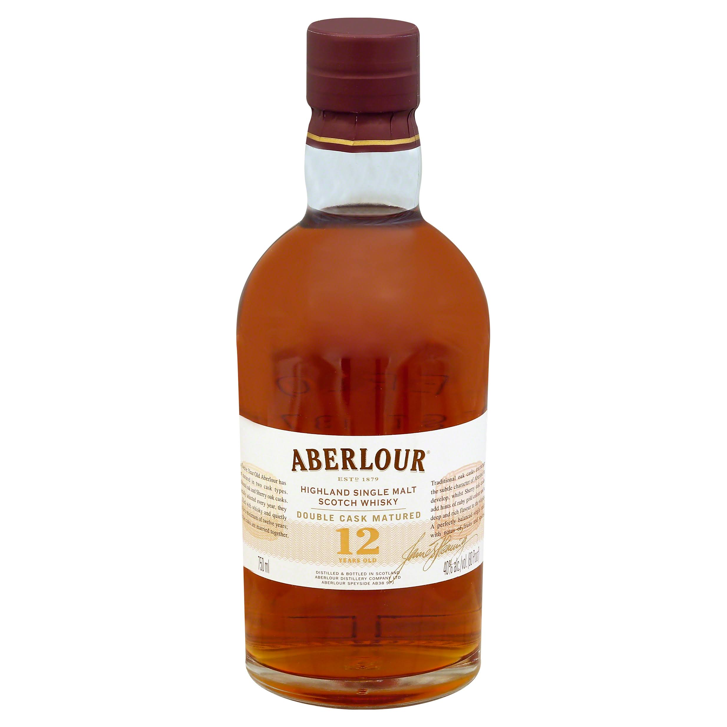 Aberlour Whisky, Highland Single Malt Scotch - 750 ml