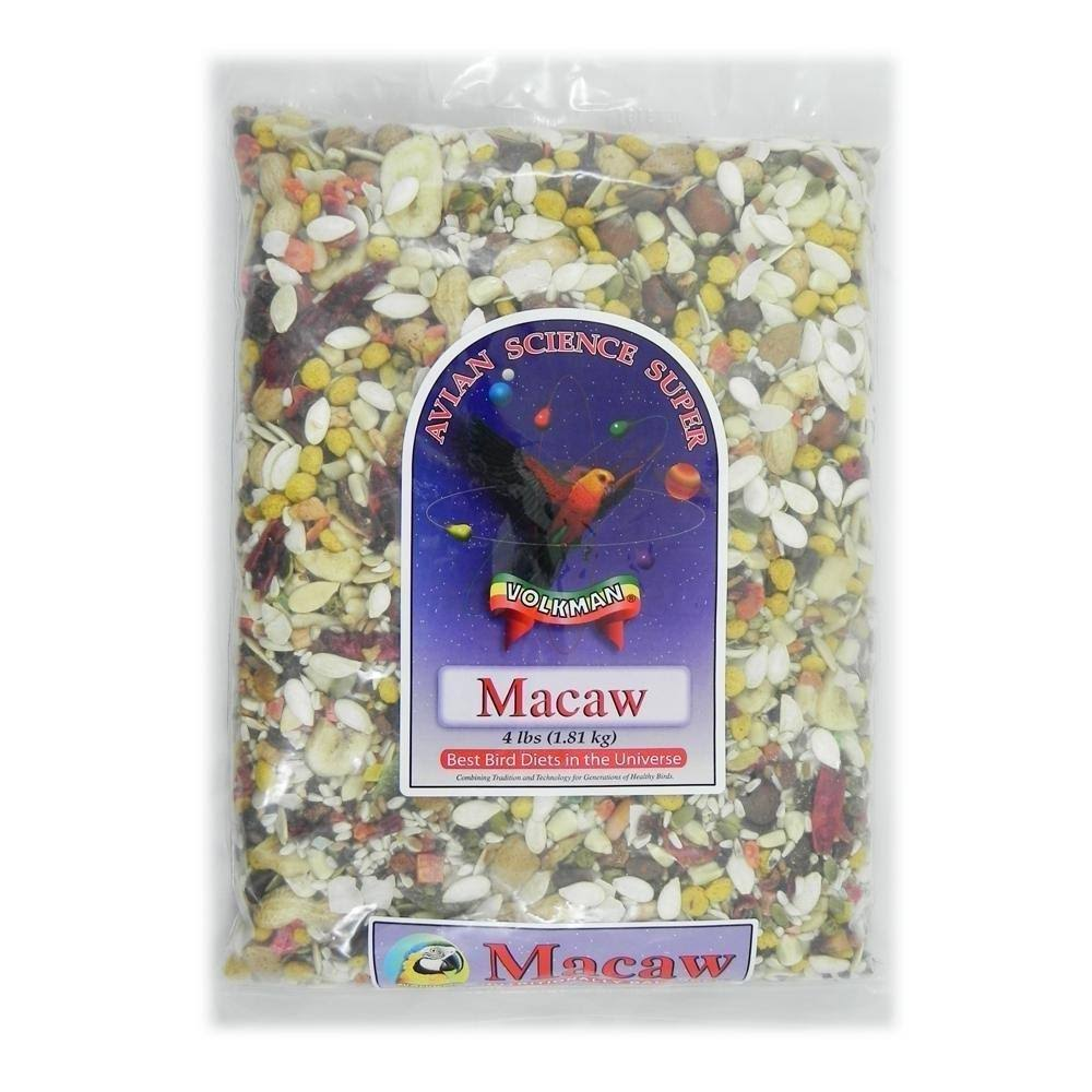 Volkman Seed Avian Science Super Macaw 4lb