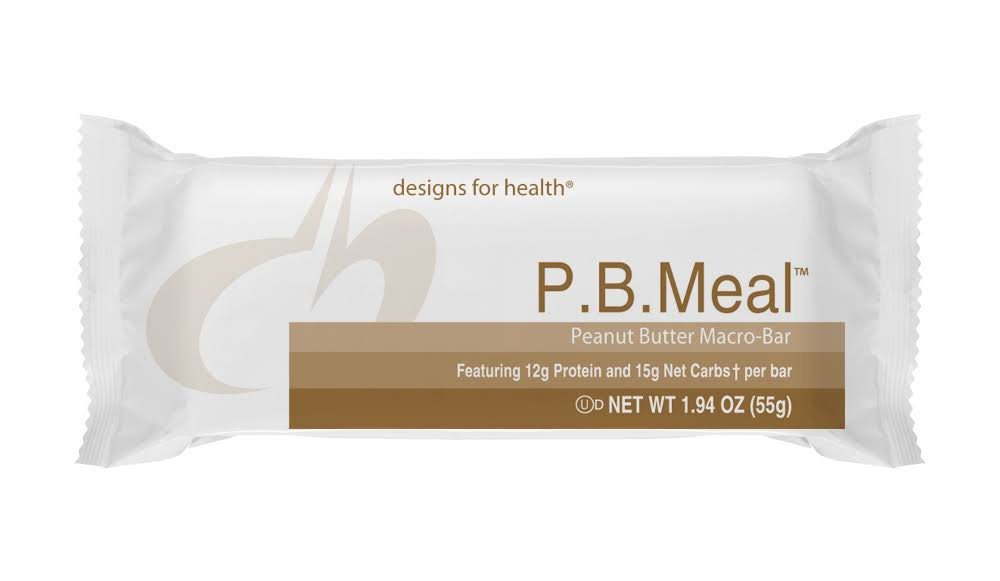 Designs for Health P.B. Meal Bar