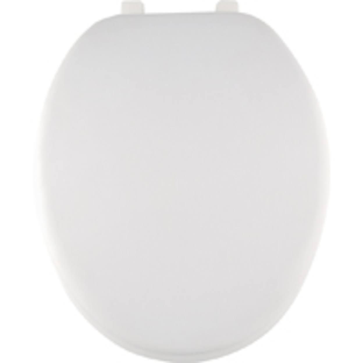 Mintcraft Elongated Toilet Seat - White, 19""
