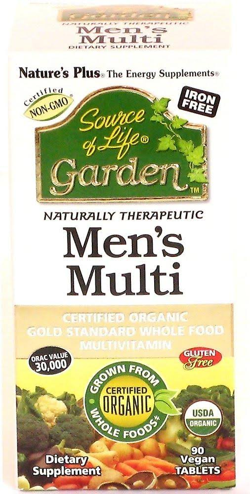 Source of Life Garden Men's Once Daily Multivitamin - 30 Tablets
