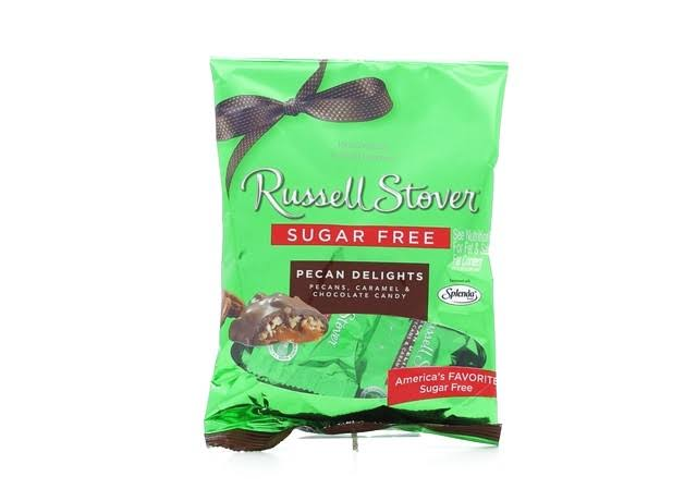 Russell Stover Sugar Free Pecan Delights Peg Bag - 3 Oz