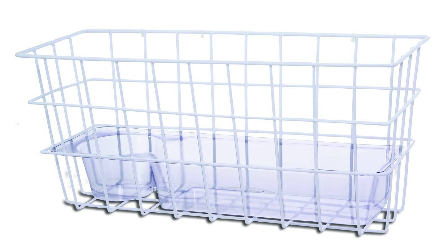 Essential Medical Supply Wire Basket - For Folding Walkers, With Bracket Attachment
