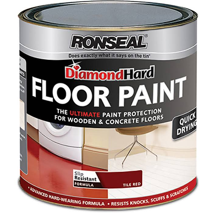 Ronseal DiamondHard Floor Paint - White