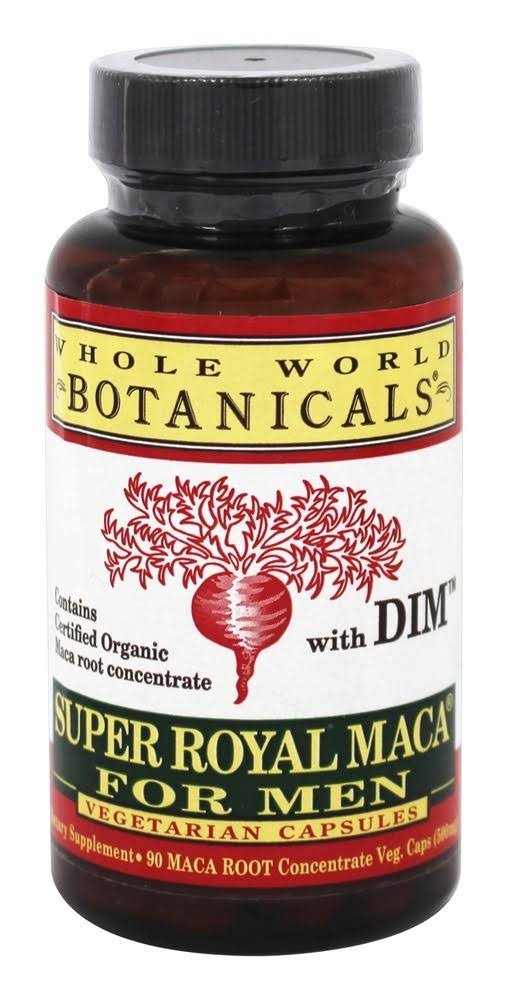 Whole World Botanicals Super Royal Maca for Men - 500mg, 90ct