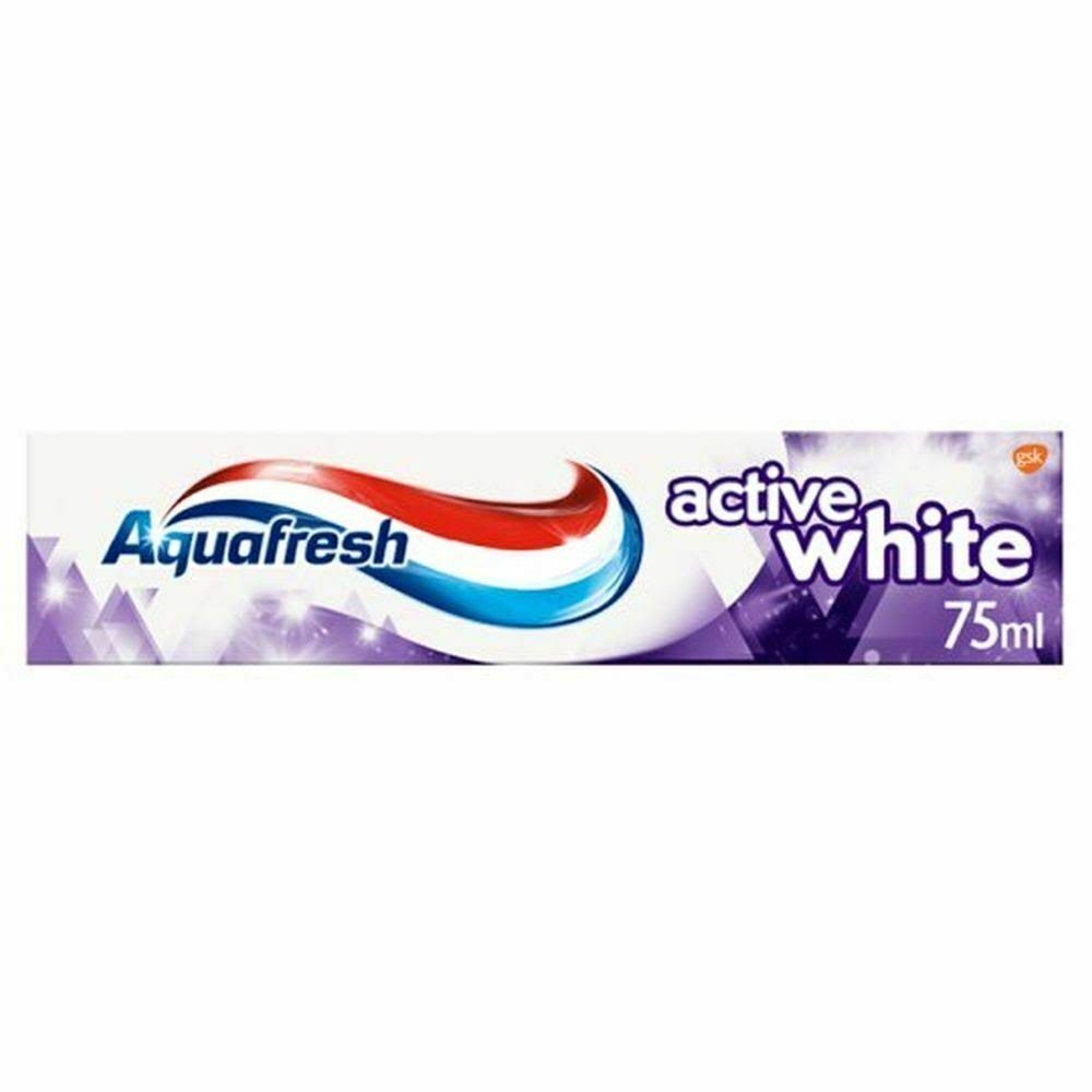 Aquafresh Active White Toothpaste - 75ml