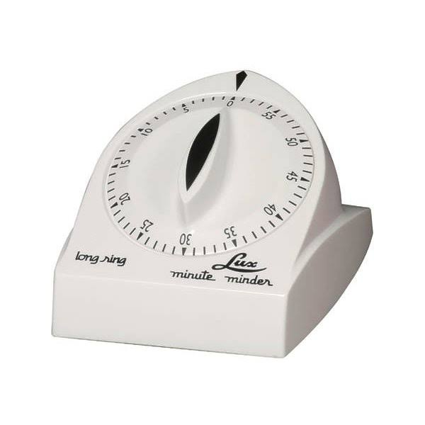 Lux Long Ring Timer - White