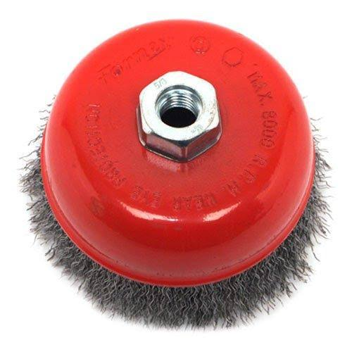 Forney 72754 Coarse Crimped Wire Cup Brush - 5""