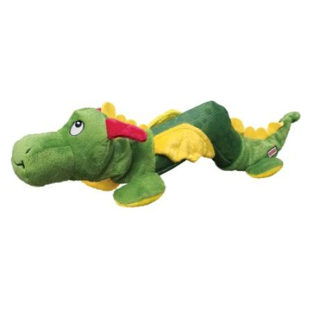 Kong Shakers Stuffed Dragon Dog Toy - Large/X-Large