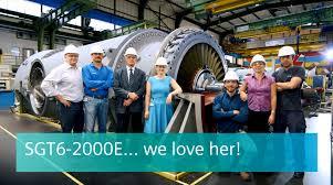Dresser Rand Job Indonesia by Sgt6 2000e Heavy Duty Gas Turbine 60 Hz Gas Turbines Siemens
